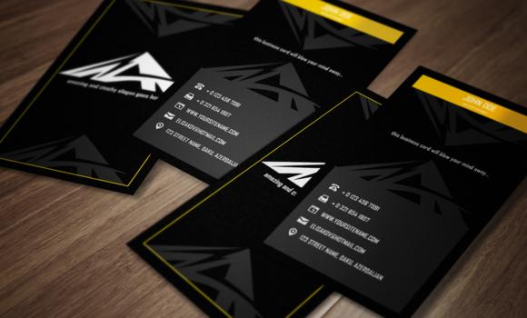 Tri Business Card Template