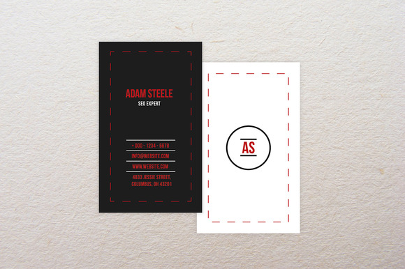 Minimal Busines Card Template 2