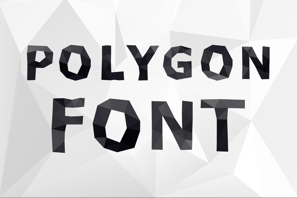 Polygonal Alphabet