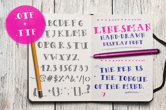 Linesman Font
