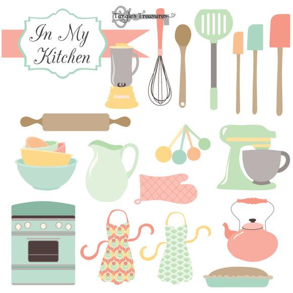 Kitchen Clipart Vectors