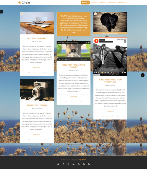 Circle Masonry Responsive Wordpre