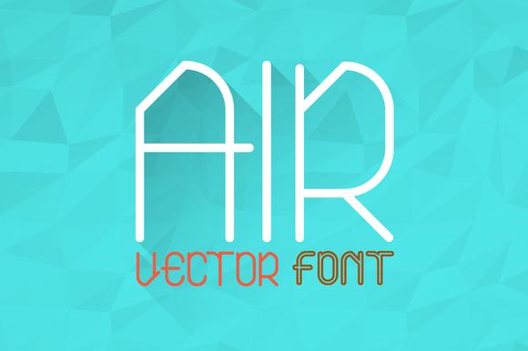 Air Typeface