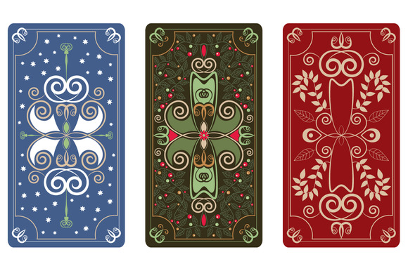 Vector Ornament For Tarot Cards