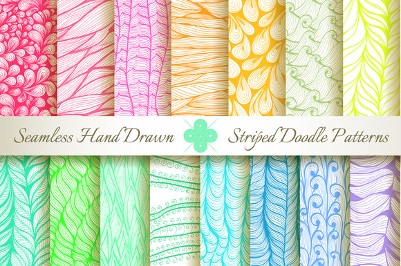 15 Seamless Striped Patterns