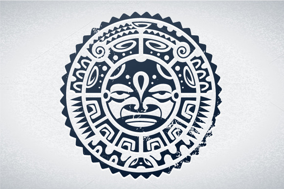 Polynesian Vector Mask