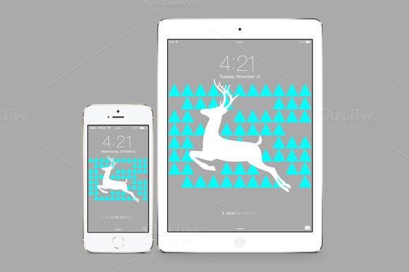 IPhone IPad Deer Wallpaper