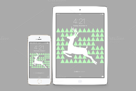 IPhone IPad Deer Wallpaper