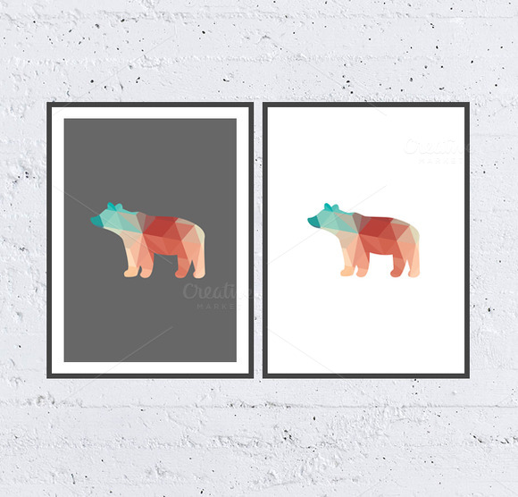 Bear Printable Poster Art