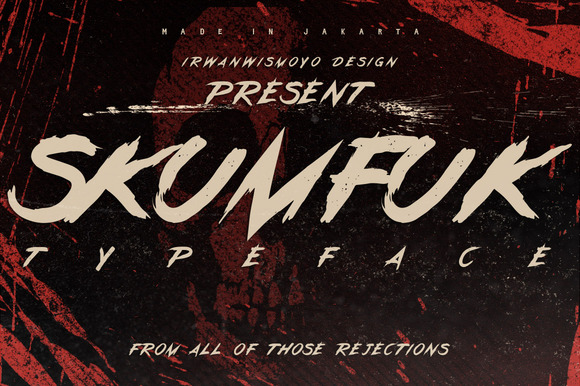 Skumfuk Typeface