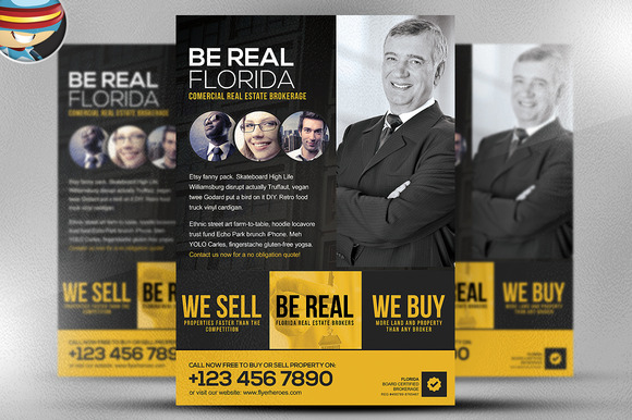 Be Real Flyer Template
