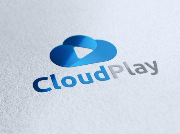 Cloud Play Logo Template