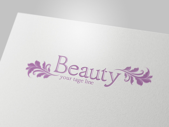 Beauty Logo Template