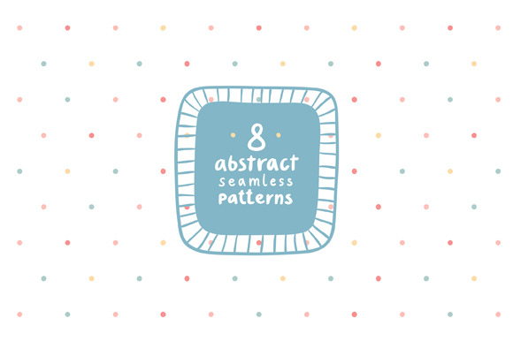 Simple Abstract Patterns Set