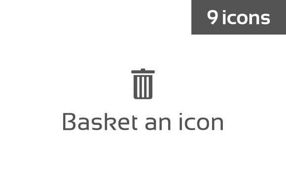 Basket An Icon