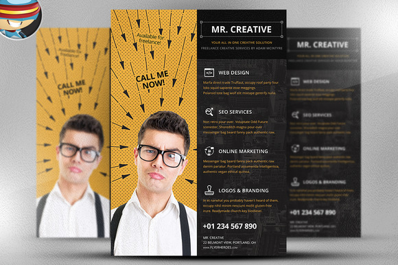 Mr Creative Flyer Template