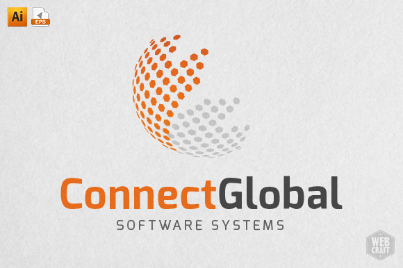 Connect Global Logo Template