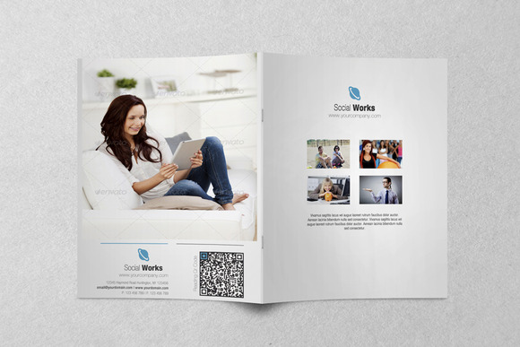 Clean Corporate AD Brochure