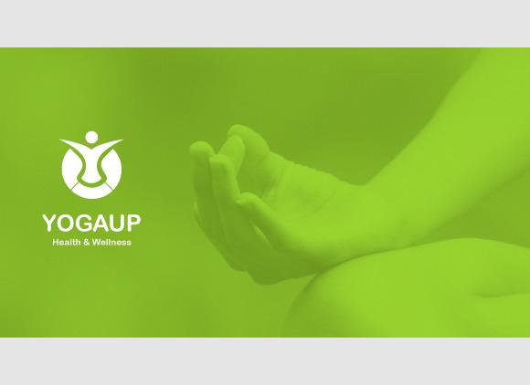 YogaUp Logo Template