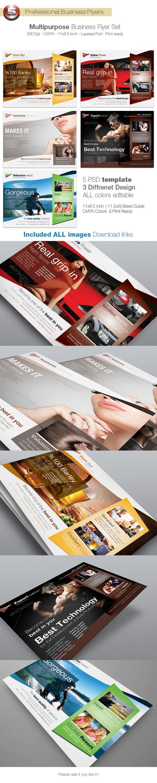 Multipurpose Business Flyer Set
