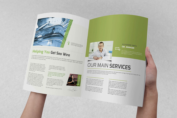 Seo Wire Corporate Brochure