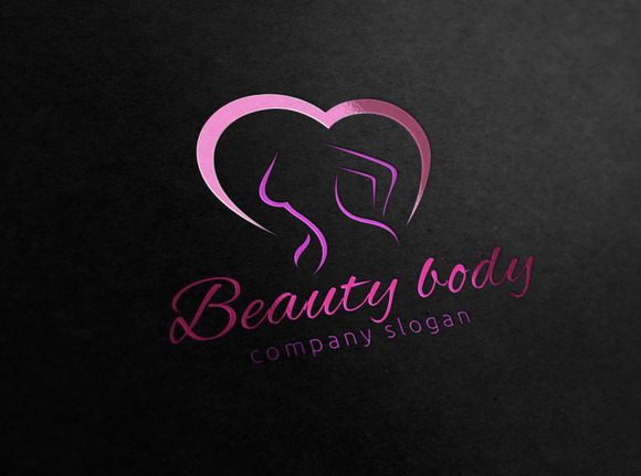 Beauty Body Logo Template