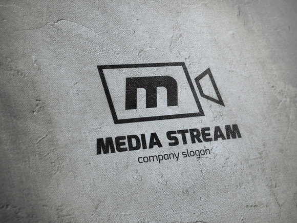 Media Stream Logo Template