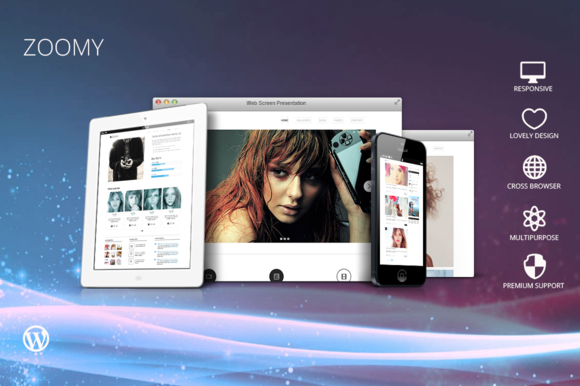 Zoomy Photography WordPress Theme