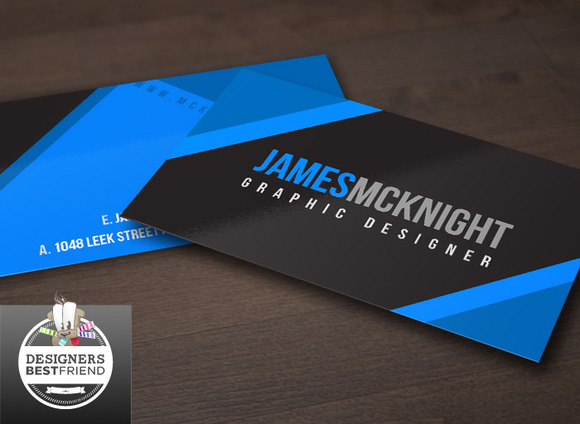 Blue Special Business Cards