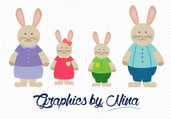 Rabbit Family Bunny Family Clipart