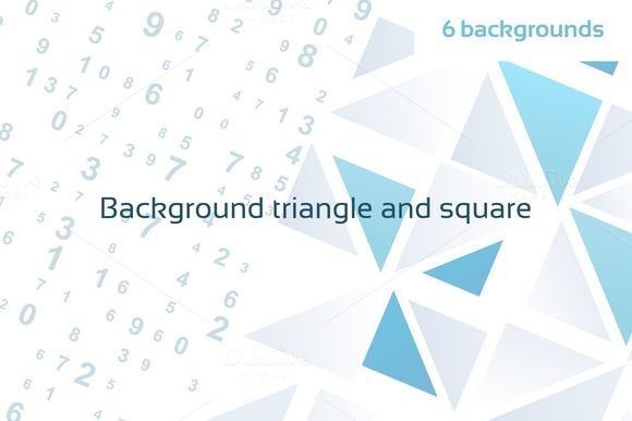 Background Triangle And Square