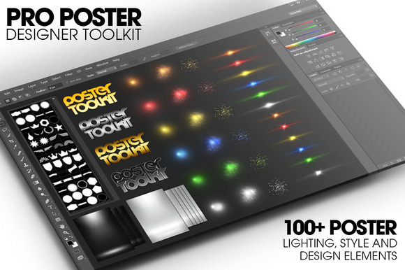 Pro Poster Designer Toolkit W Poster
