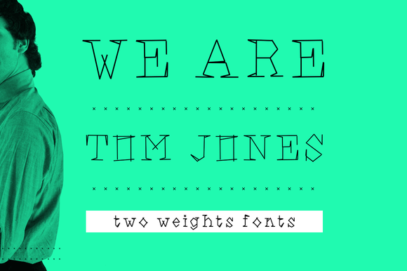 We Are Ton Jones Font