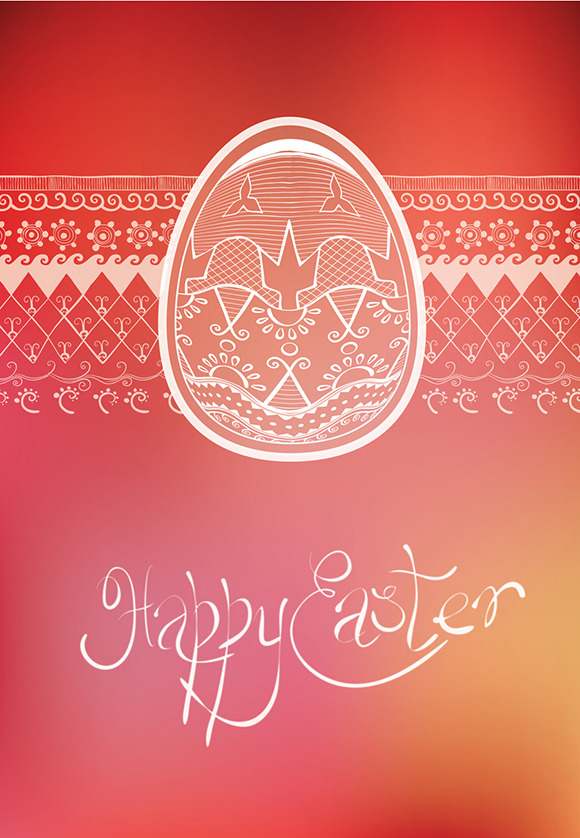 Easter Egg Card S Design