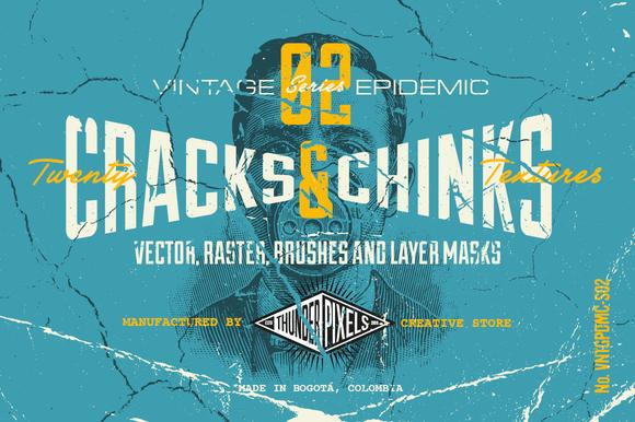 20 Cracks Chinks Textures VES02