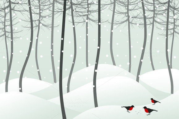 Bird In Wood