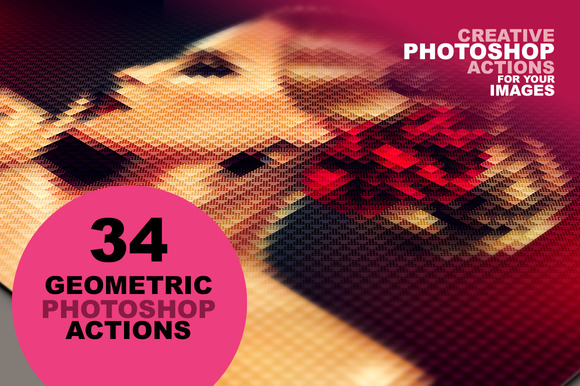 34 Geometric Photoshop Actions 03