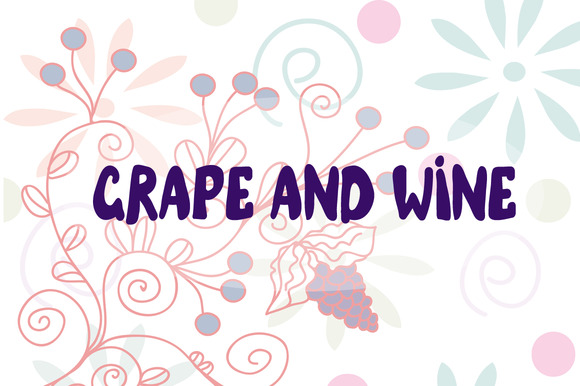 Grape And Wine Illustrations Vectors