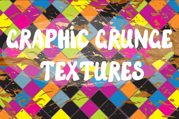 Graphic Grunge Textures Backgrounds