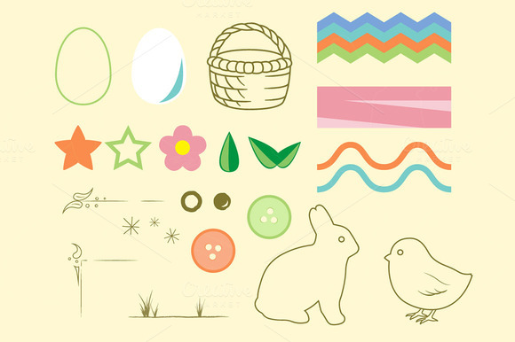 Quick Easter Vector Pack V1