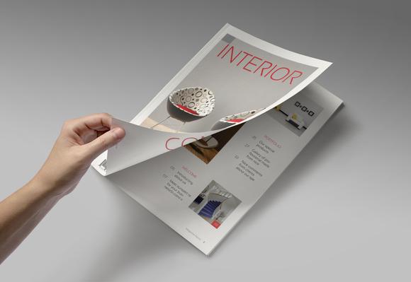 Magazine Editorial Template 07
