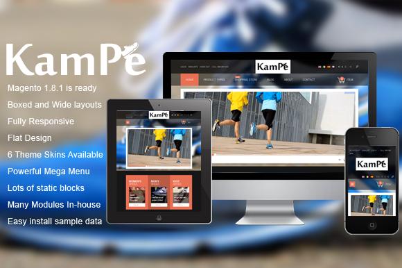 SM Kampe Responsive Magento Theme