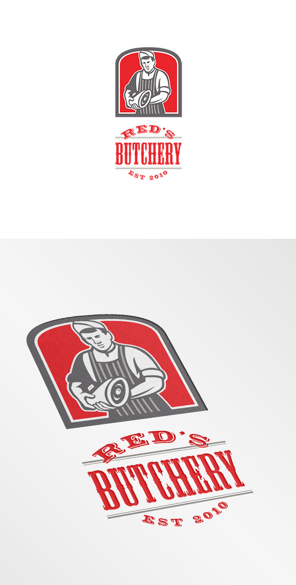 Red S Butchery Logo