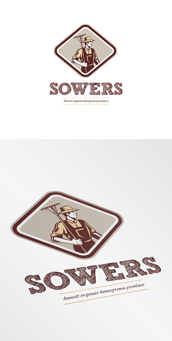 Sowers Organic Farm Produce Logo