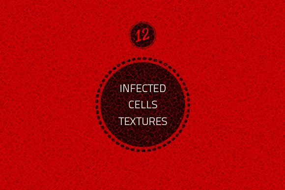 12 Infected Cells Textures