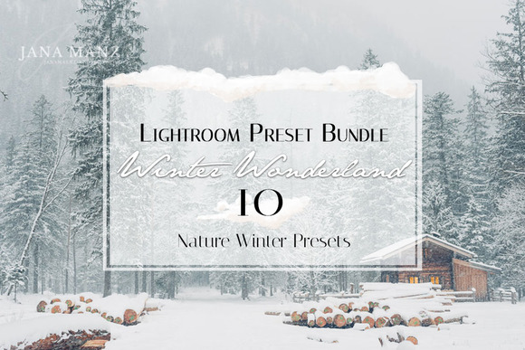 Winter Wonderland Lightroom Preset