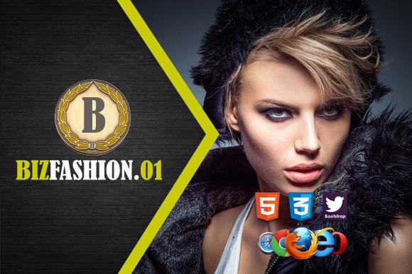 Biz Fashion 1 Premium HTML5 Template