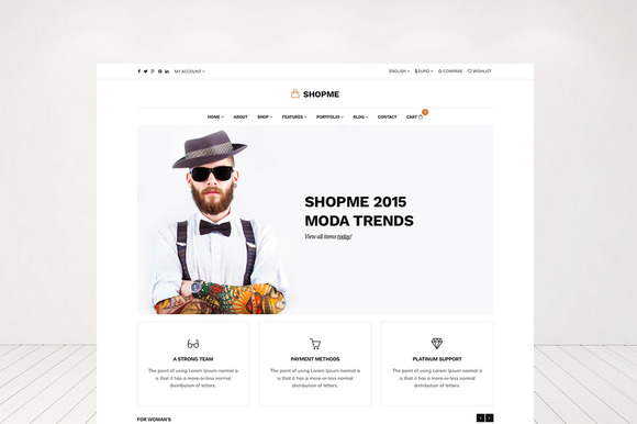Shopme Responsive Shop Template