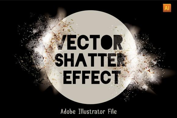 Vector Shatter Effect Set