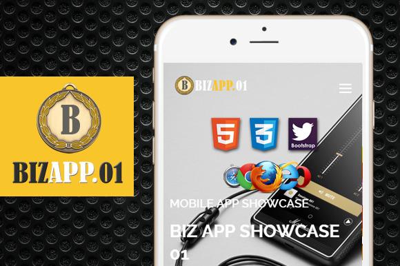 Biz App 01 Premium HTML5 Template